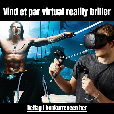 Vind et par virtual reality briller