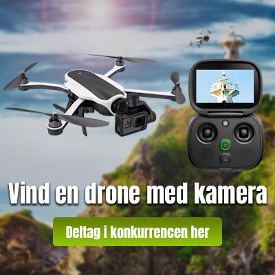 Vind en drone med kamera