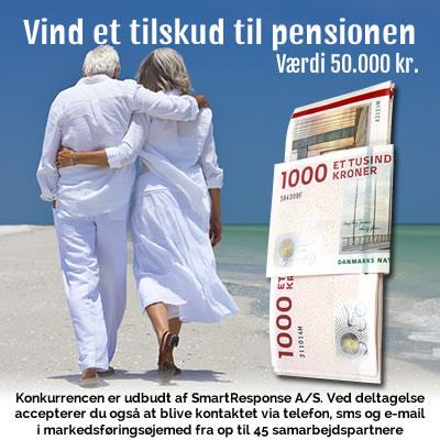 Vind et tilskud til pensionen