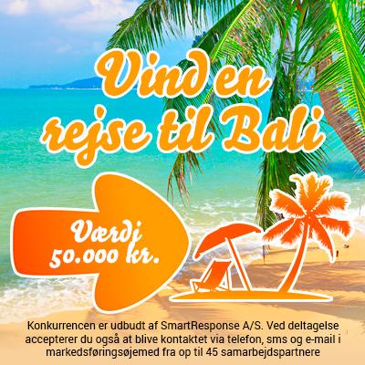 Vind en rejse til Bali