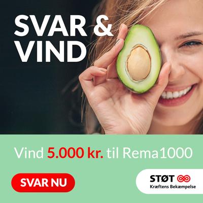 Vind et gavekort på 5.000 kr til REMA 1000