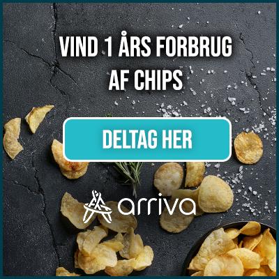 Vind et års forbrug af chips