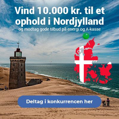 Vind et ophold i Nordjylland