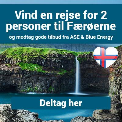 Vind en rejse for 2 personer til Færøerne