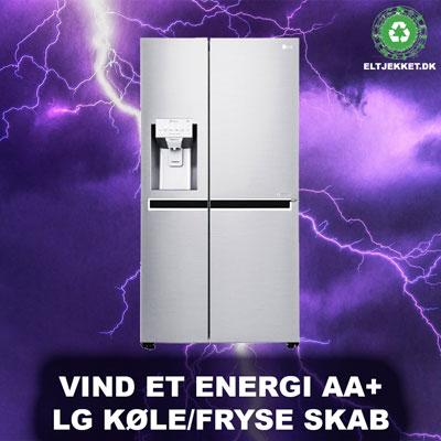 Vind et køle/fryseskab fra LG