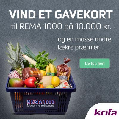 Vind 10.000 kr. til REMA1000