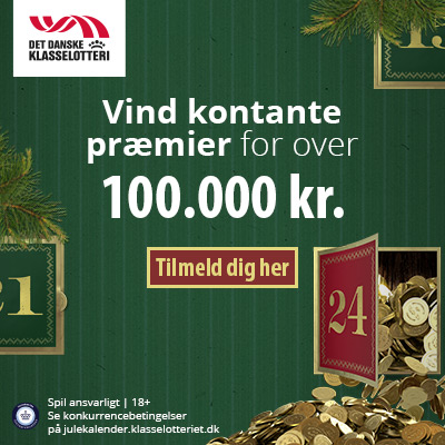 Vind præmier for over 100.000 kr.