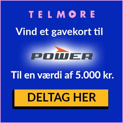 Vind et gavekort til POWER på 5.000 kr.