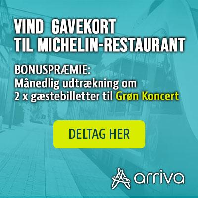Vind 4.000 kr. til en Michelin-restaurant