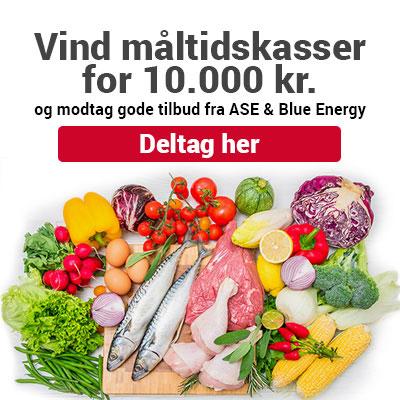 Vind måltidskasser for 10.000 kr.