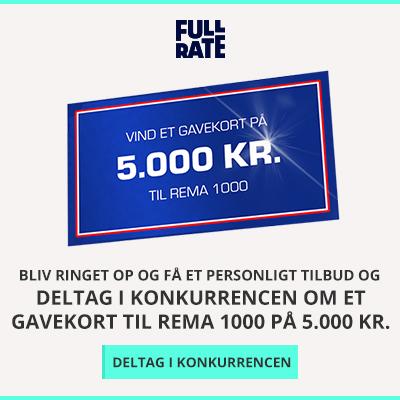 Vind et gavekort til Rema1000 på 5.000 kr.