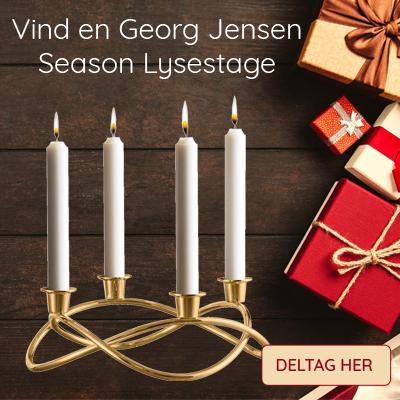 Vind en Georg Jensen adventsstage