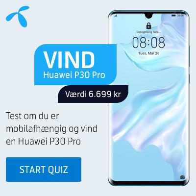 Vind en spritny Huawei P30 Pro