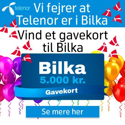 Vind et gavekort til Bilka på 5.000 kr.
