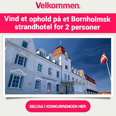 Vind et ophold på et Bornholmsk strandhotel