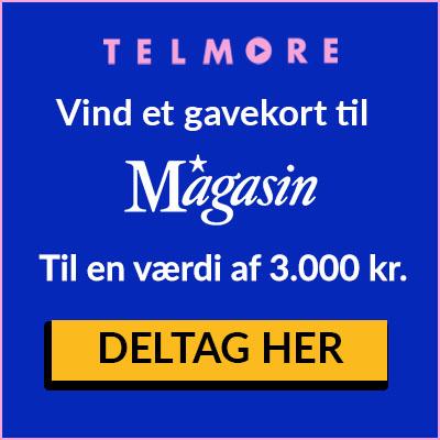 Vind et gavekort på 3.000 kr. til Magasin